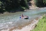 детский рафтинг на реке Черемош, Карпаты