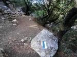 метки на Тропе Израиля для туристов