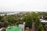 вид с мечети на Оку и Касимов