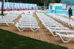 Пляж в парке спорта в Барнауле