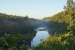 рассвет в Вепсском лесу