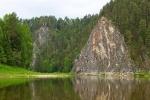 река Чусовая на Урале