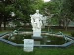 скульптура в парке Ратхаус