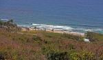 вид на пляж Кэттлвош со скалы