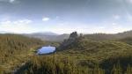 Урицкие скалы, Украина
