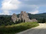 Урицкие скалы во Львовской области