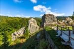 Урицкие скалы в Карпатах, Львовская область