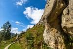 Урицкие скалы в Карпатах