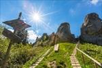 Урицкие скалы в Карпатах, Украина