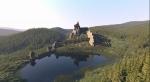 Урицкие скалы, остатки крепости Тустань