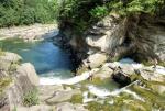 водопад Пробий с моста