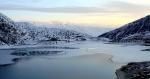 озеро Кезеной-Ам зимой