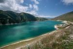 озеро Кезеной-Ам в Чечне, Кавказ, Россия