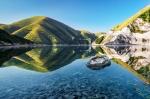 озеро Кезеной-Ам в Чечне, Кавказ