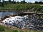 Тосненский водопад в Ленобласти