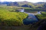 река Малый Енисей в Сибири