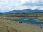 река Ка-Хем в Сибири