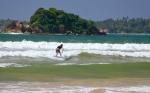серфинг в бухте Велигамы