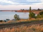 берега Волгоградского водохранилища