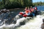катамаран для сплава по рекам