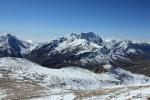 гора Базардюзю зимой