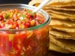 Сальса с запеченным перцем и гранатовым соком по рецепту мексиканской кухни