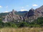 скала Деликли-Кая, Крым