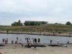 грязевое озеро Тузлучное в Соль-Илецке