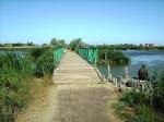 мостик на пляж в Катранке