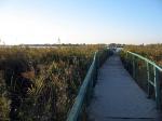 мостик из пляжа в Катранку