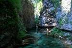ущелье Блед в Словении