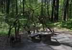 креативная скамейка на Богатырской аллее, Светлогорск