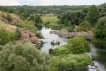 пороги на реке Рось