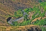 река Азат в ущелье