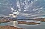 Азатское водохранилище в Армении