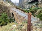 однопролетный мост на реке Азат в Гарни