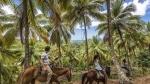 на лошадях по полуострову Самане