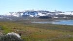 гора Халти, вид с Норвегии