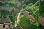 заброшенная рыбацкая деревня Houtouwan, Китай