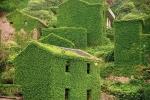 заброшенная деревня на архипелаге Шенгси
