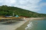пляж пансионата Семидворье