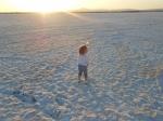 высохшее Ларнакское соляное озеро