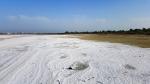 Соляное озеро в Ларнаке, Кипр