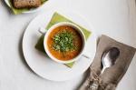 суп в эко-ресторане Ежи