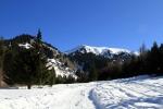 Бутаковское ущелье зимой