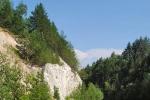 меловые горы в Хвалынском нацпарке