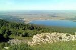вид на озеро Талкас
