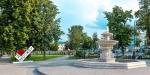 фонтан в саду Эрмитаж