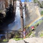 водопад Вернал, Нацпарк Йосемити, США