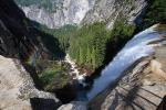 водопад Вернал, нацпарк Йосемити